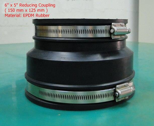 EPDM Rubber or PVC Flexible Coupling