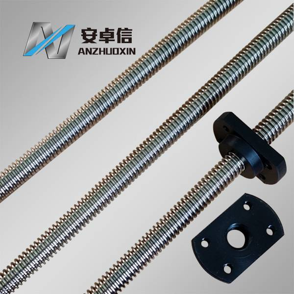 Factory threaded screw, lead screw, trapezoidal screws with best price