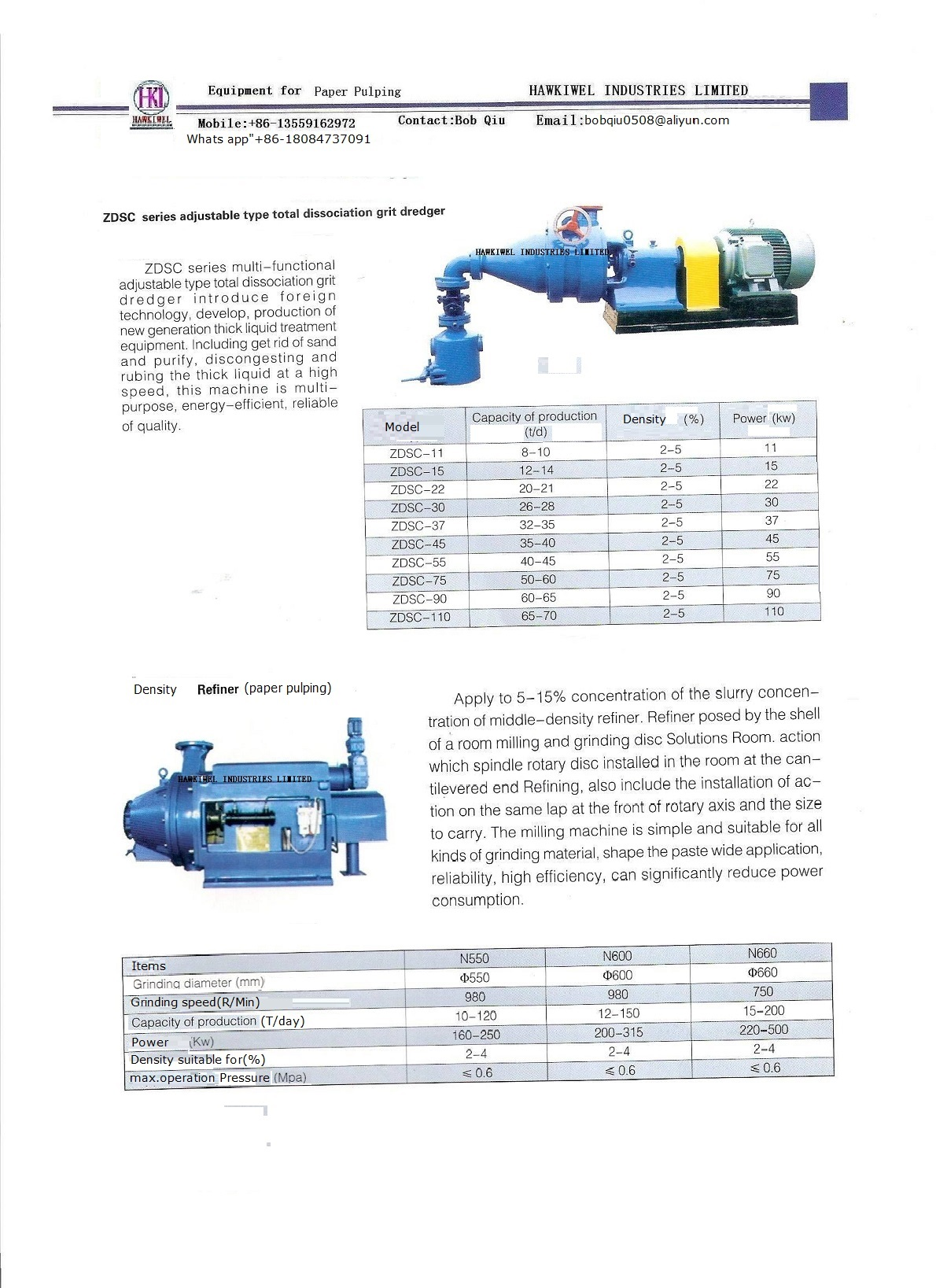 paper pulping device
