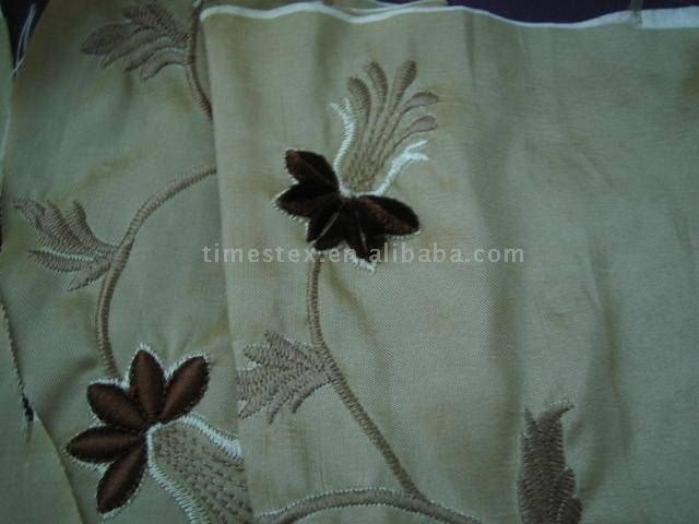 embroider nylon polyester fabric