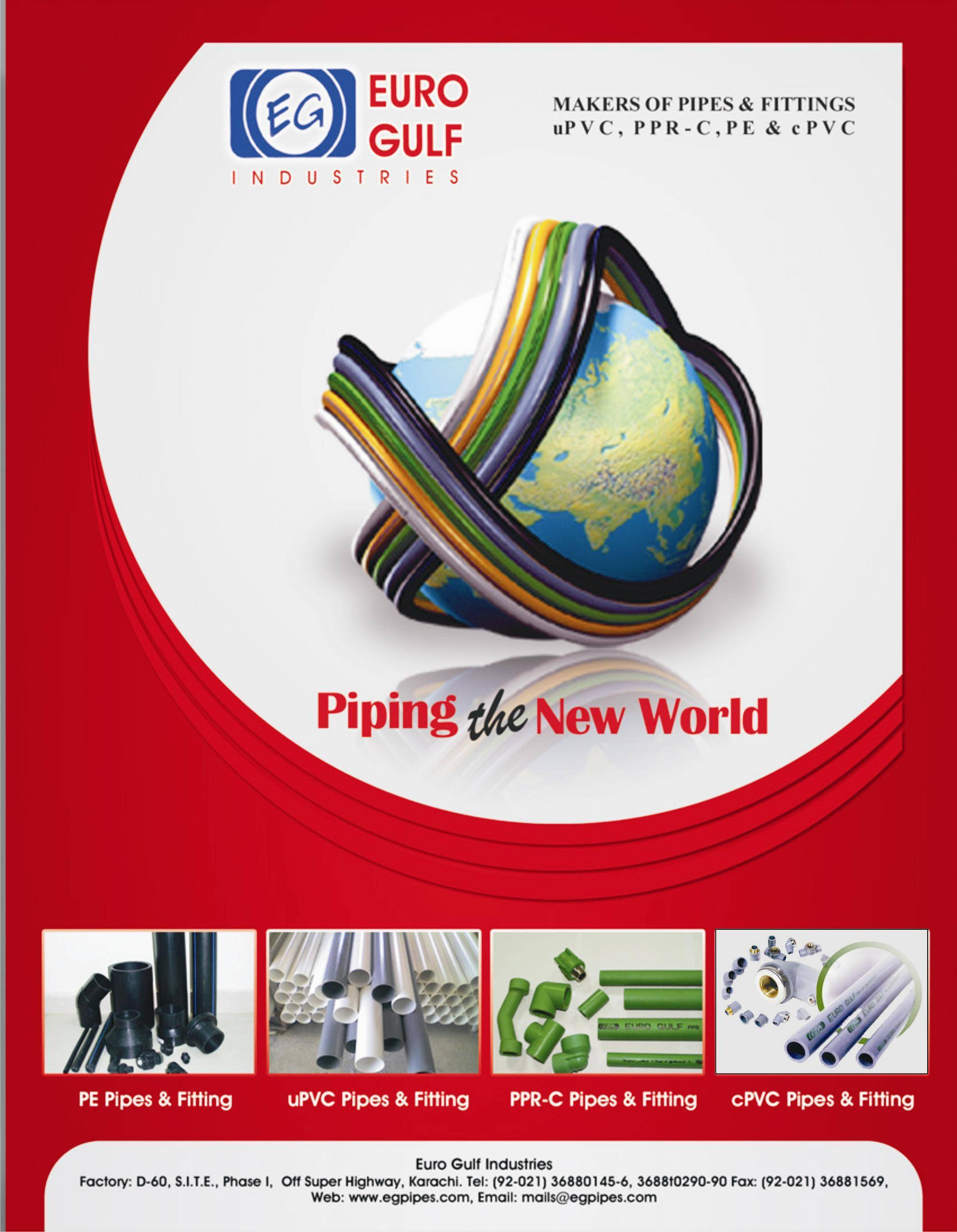 We Sell UPVC, PE, CPVC And PPRC Pipe And Fitting Of Top Quality