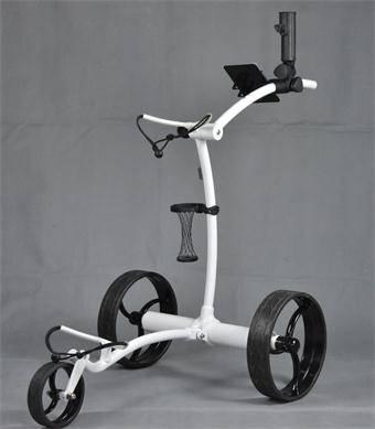 MC304TS Aluminium Electric Golf Trolley