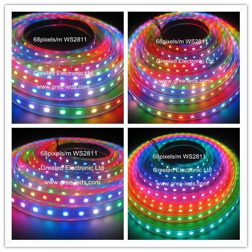 addressable digital led stripe light