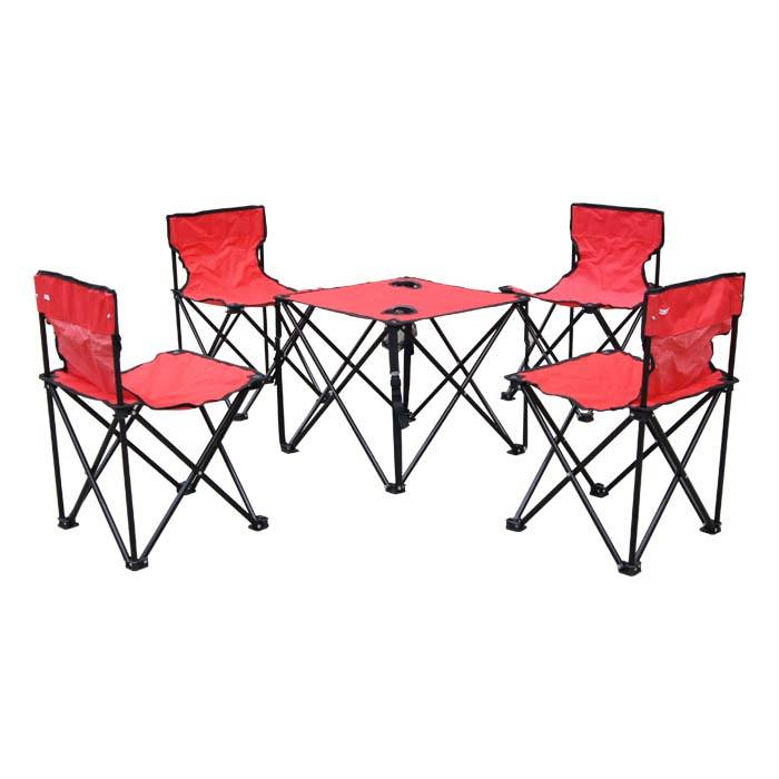 Camping Chair 5 Pcs In 1 Set