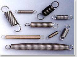 metal and rubber springs