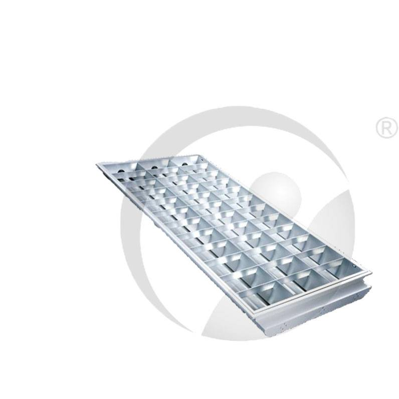 Recess T8 Grid Lighting Lamp Plate