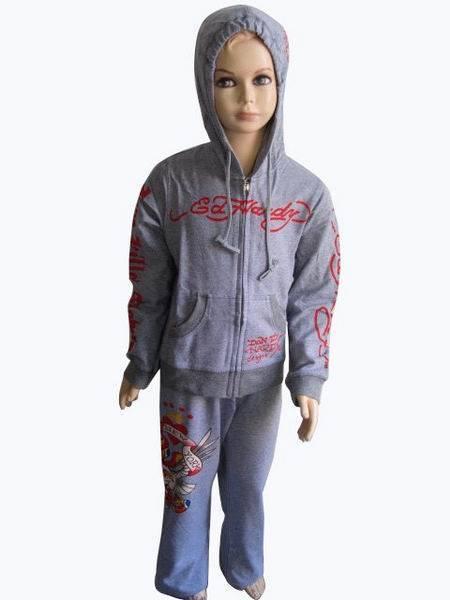 new arrive kid edhardy suit, women suit
