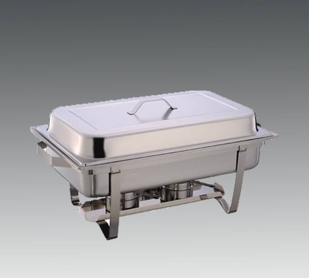 BROWNE FOODSERVICE FULL SIZE ECONOMY CHAFING DISH W/ WELDED FRAME DINNER PLATE