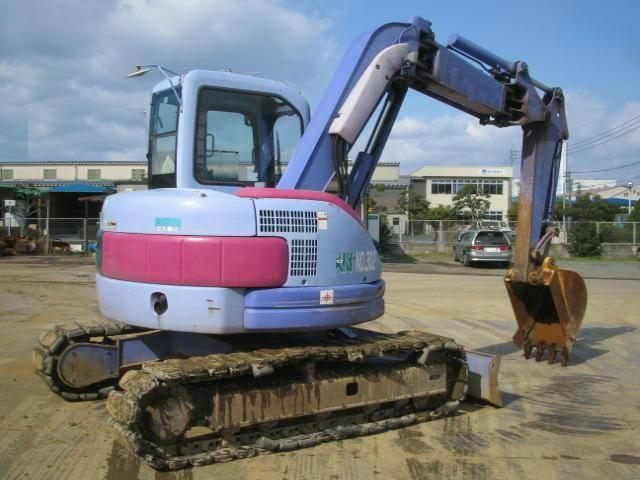 Used Komatsu Kobelco Hitachi Mini Excavators