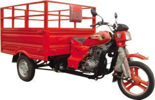 Trash cargo tricycle TW150ZH-A, with high side height