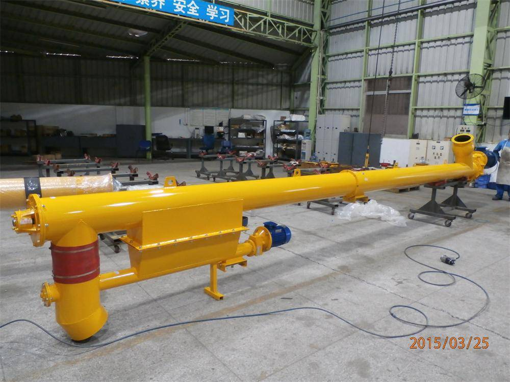 Sicoma Dual Screw Conveyors