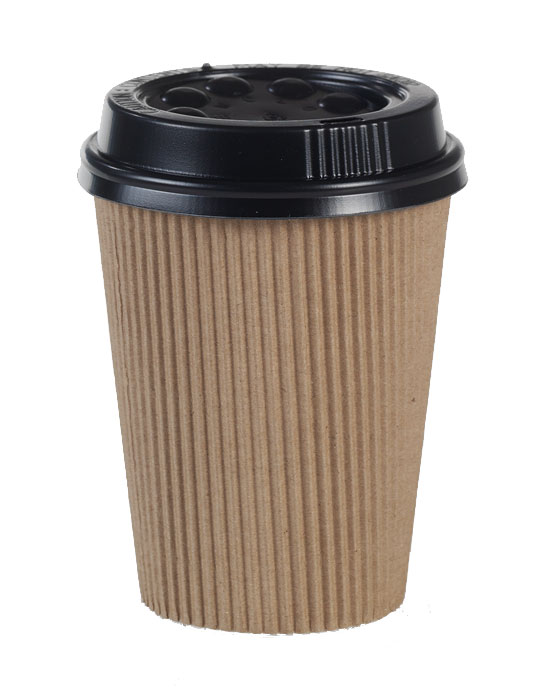 8oz Double Wall Paper Cup with Lid
