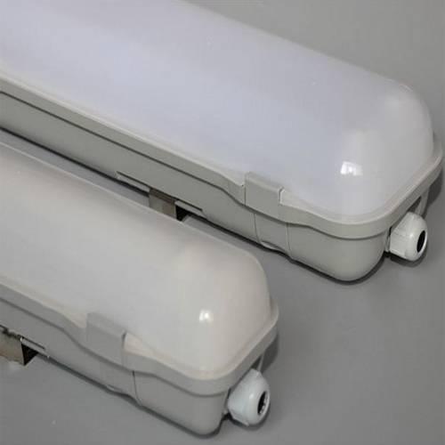 Waterproof ip68 tri proof led 40w 1200mm replace t8 led tube light fixture 218w