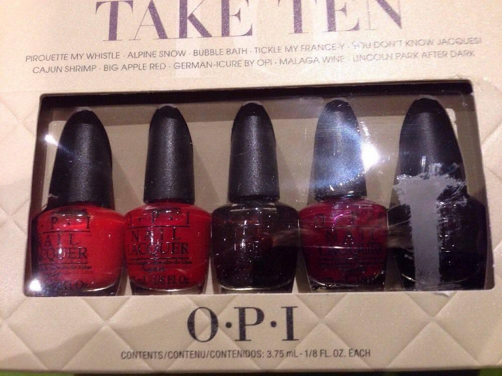 o.p.i nail polishes for sale