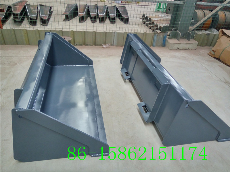 China skid loader standard bucket implements