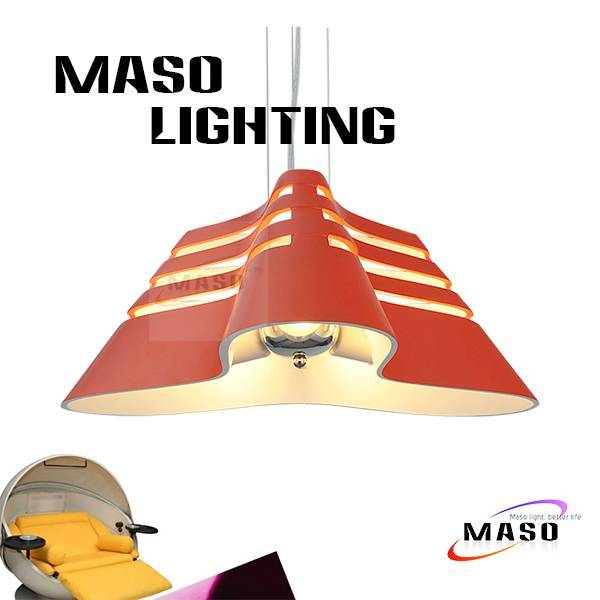 LED 9w lighting source Resin pendant material lamp CE approved E27 base MS-P1044