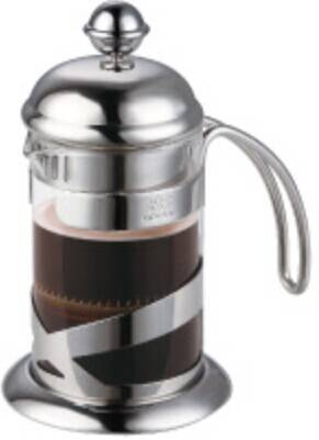 Clear glass&304# Stainless steel french press coffee maker in 350ml