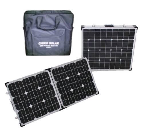80w folding solar panel kits