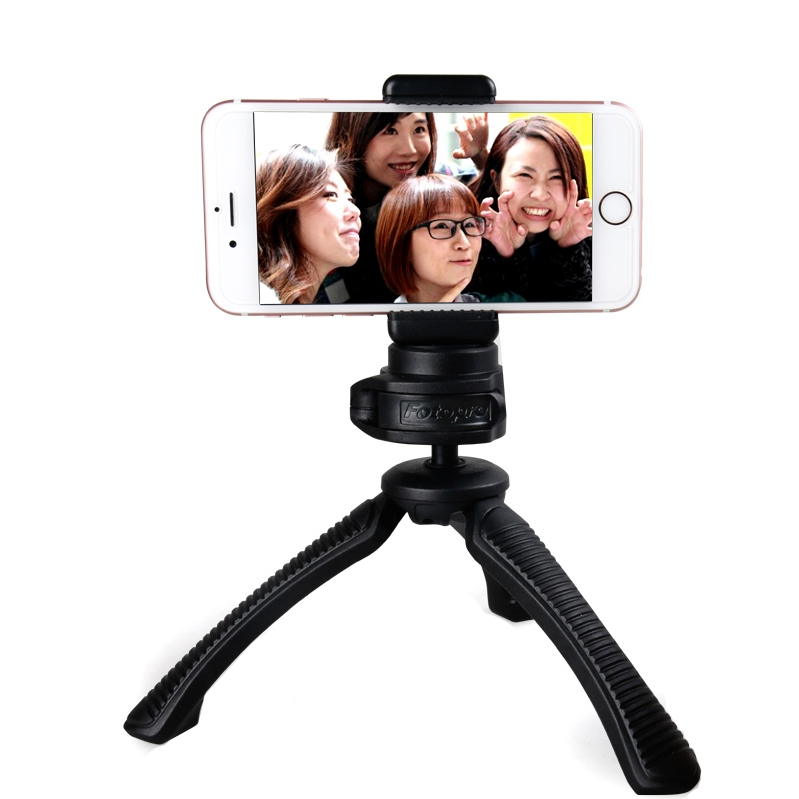 Mini Lightweight Table Top Stand Tripod and Grip Stabilizer Compatible with Digital Camera, DSLR,