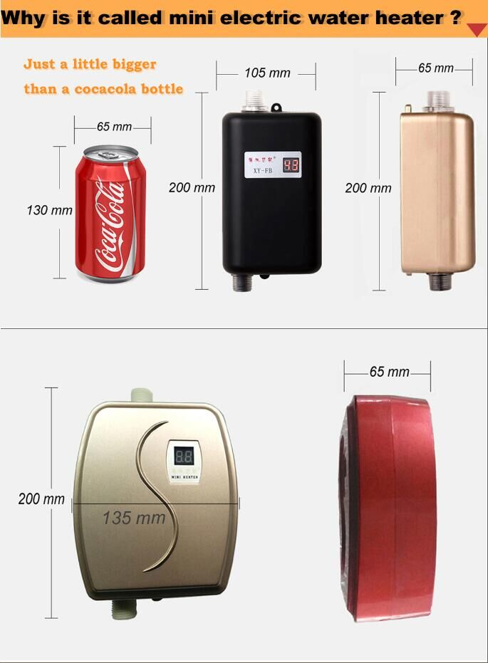 electric water heater instant electric water heater for kitchen and bathroom use