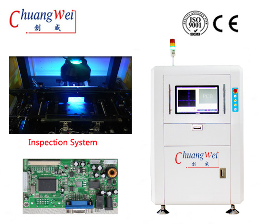 AOI after Reflow oven for PCB Assembly PCB Inspection,CW-Z588