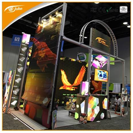 High quality aluminum truss display booth