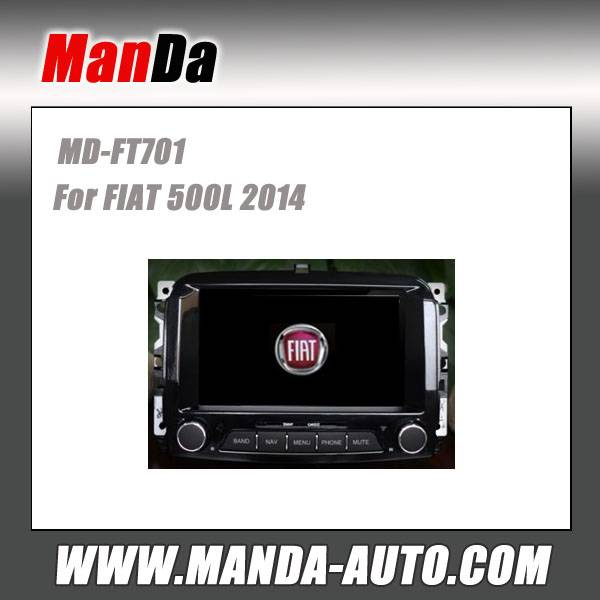 Manda car dvd gps for FIAT 500L 2014 in-dash head unit touch screen dvd gps usb automobiles