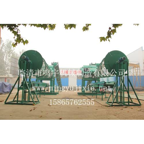 Roller-screening-chaff-machine(Coconut production line equipment)