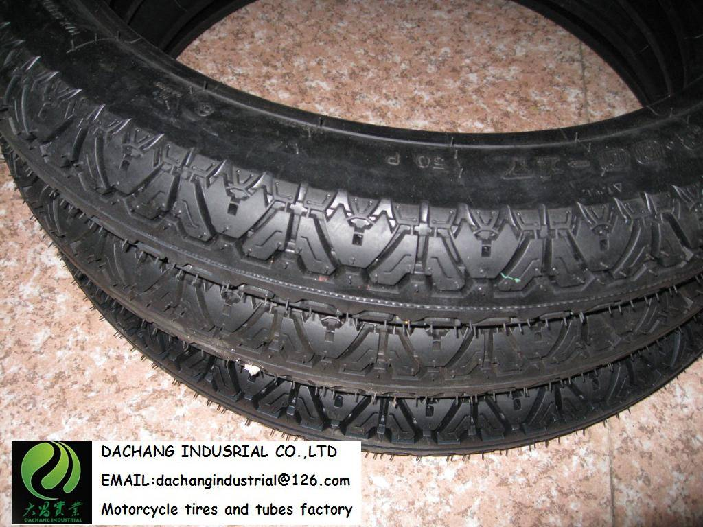 Dunlop motorcycle tire 300-17 High Grip for Bajaj