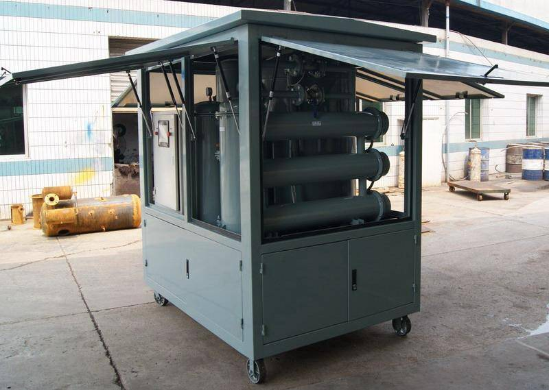 Enclosed Type Transformer Oil Regeneration/ Oil Filtering/ Oil Treatment/ Oil Purification System