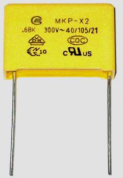 Interference Suppression Capacitor (MKP-X2)