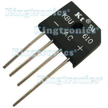 Kingtronics Kt bridge rectifier KBU602