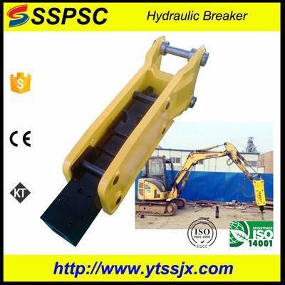 Best selling excavator breaker open type top style SSPSC SB40 suitable for backhoe loader skid steer