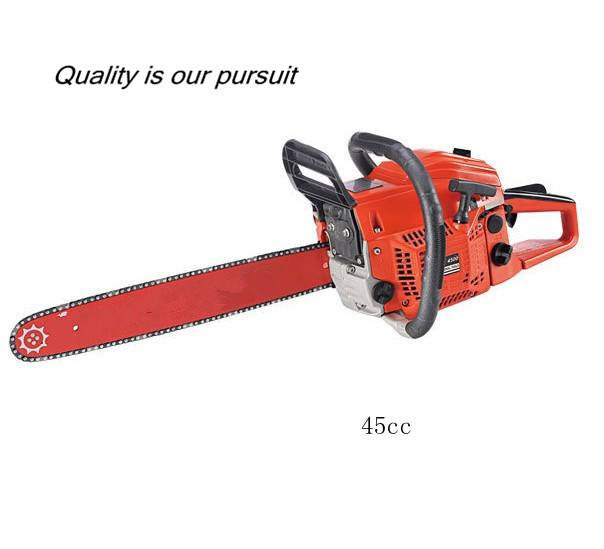 High quality 45cc gasoline chain saw with Japan technology