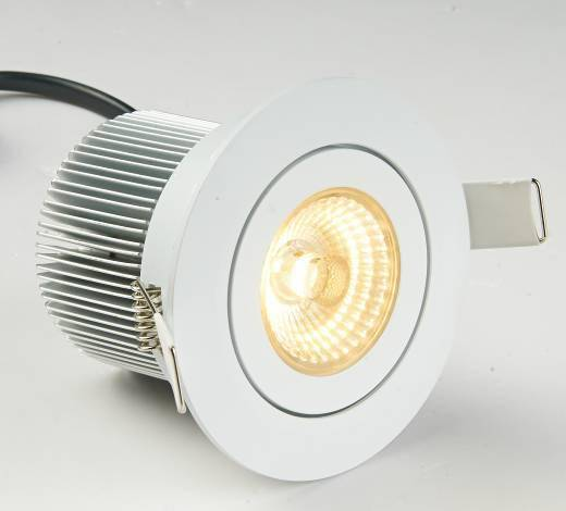 10w /12w COB 3 inch LED down light CE listed