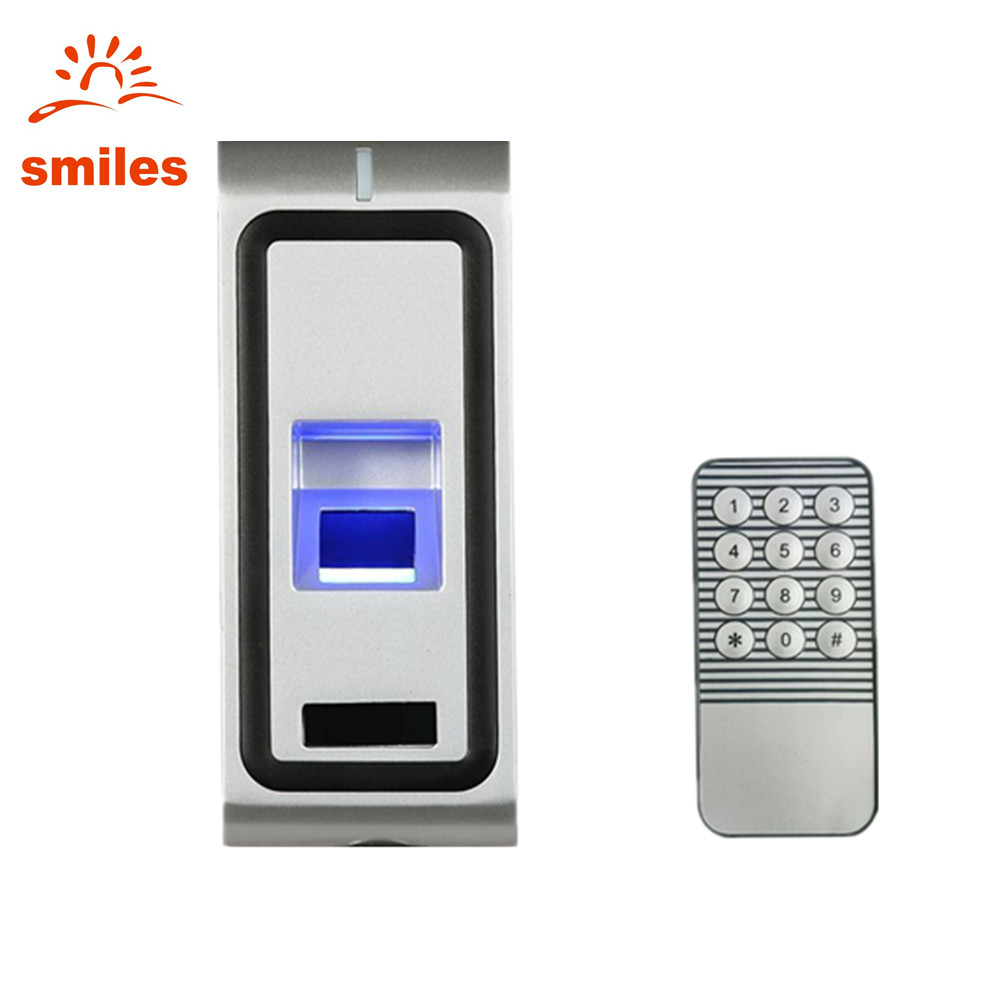 Metal Case Biometric Fingerprint Access Control Support RFID Card Reader and Remote Control