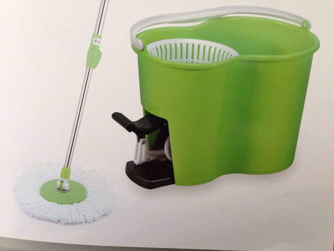 360 spin tornado mop with thickness bucket