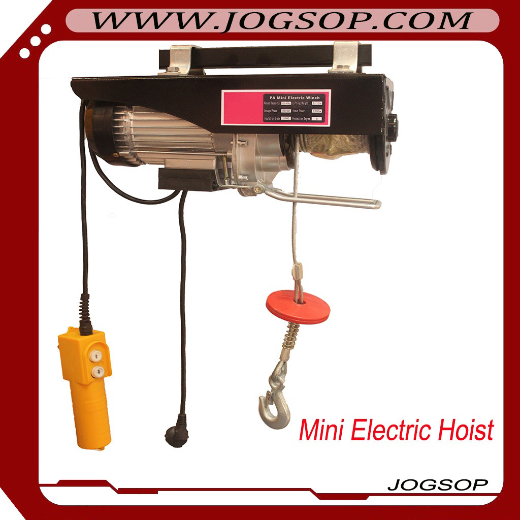 hgs-b electric hoist mini electric wire rope hoist