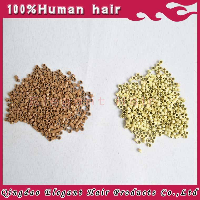 Cheap Colored micro rings for hair extension