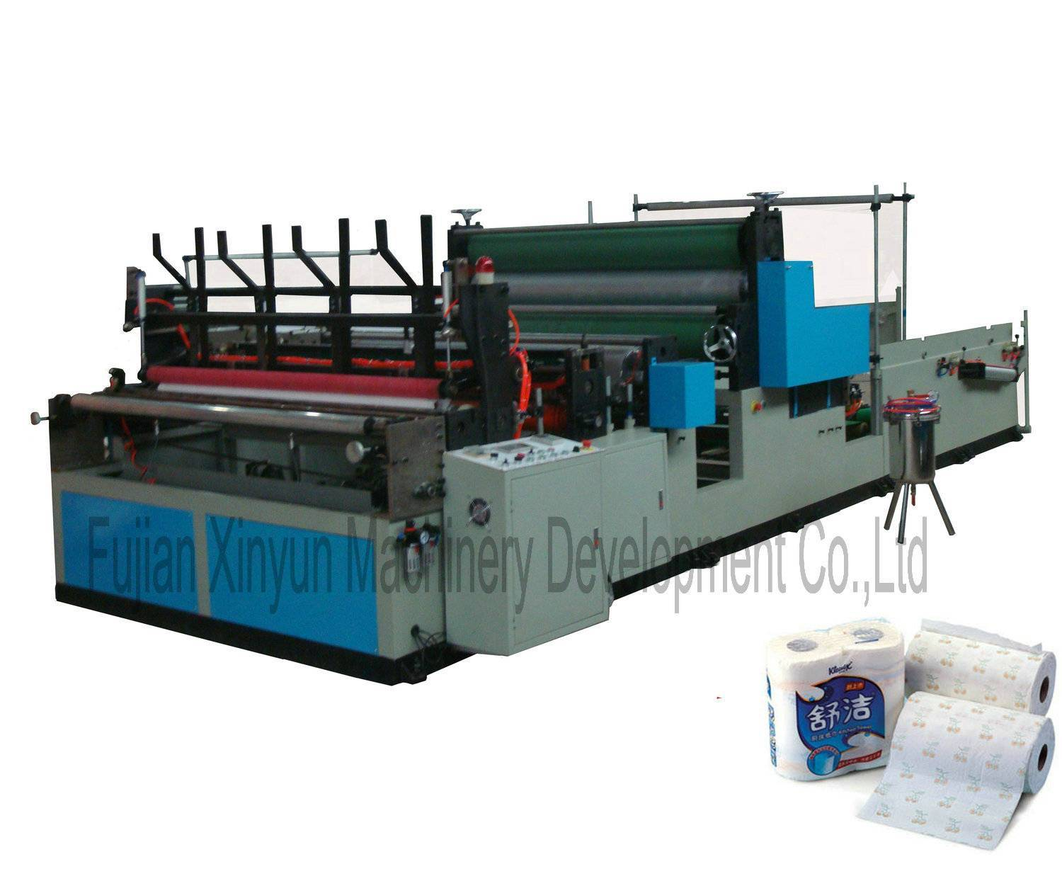 Full-automatic Kitchen Towel Roll Paper Machine