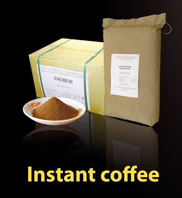 Spray Dried Instant coffee Viet Nam