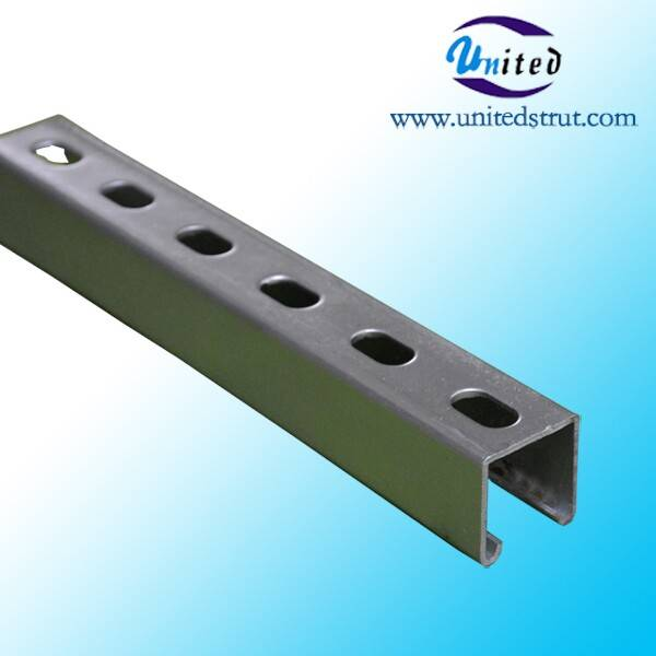 Roll Forming HDG strut channel Guangzhou strut channel building materials