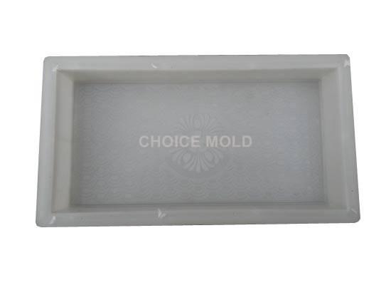 plastic mold for sidewalk brick