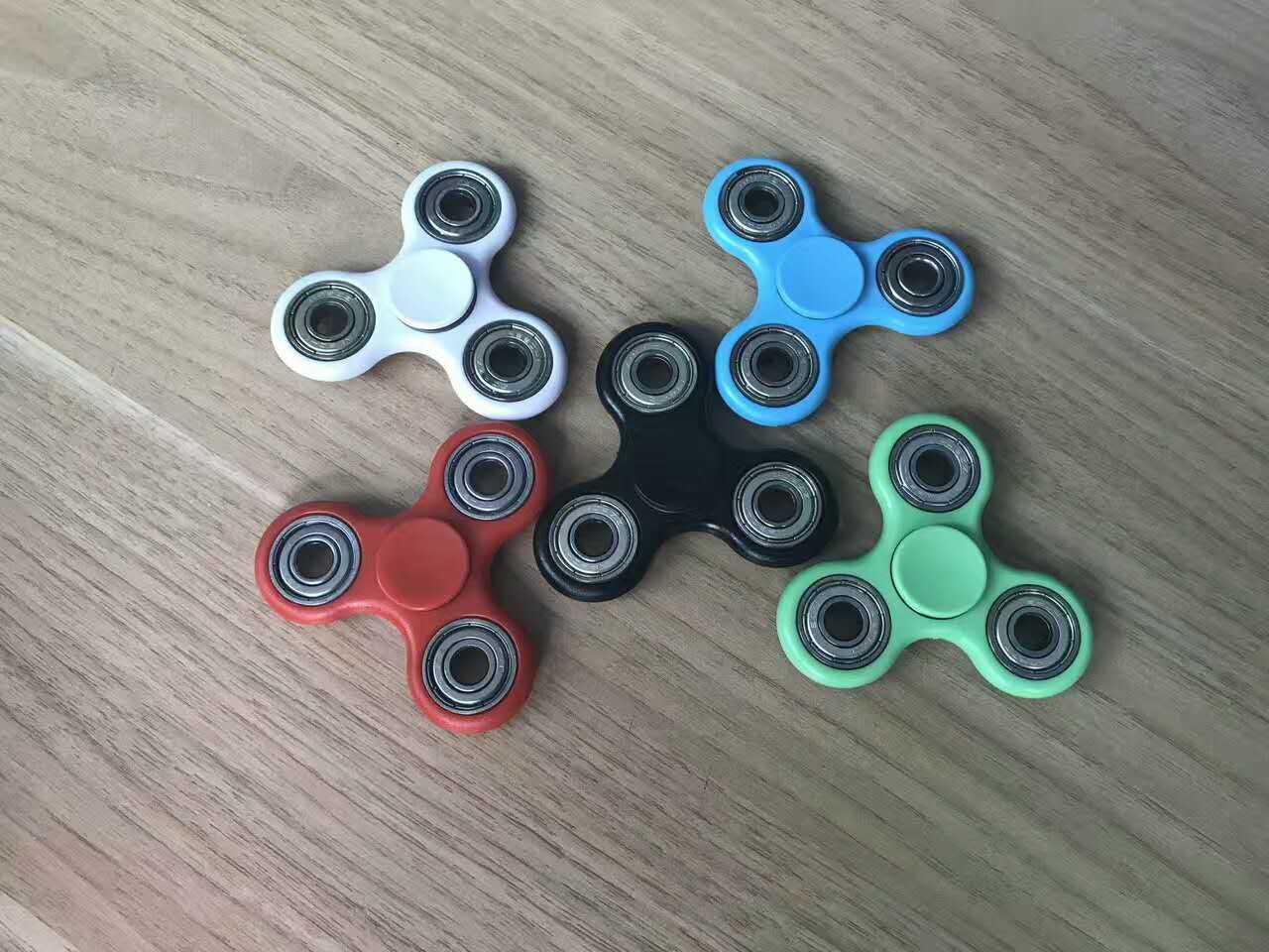 Fidget Tri-Spinner Toys Sensory Fidgets Autism ADHD Hand Spinner Anti Stress Funny gifts Plastic EDC