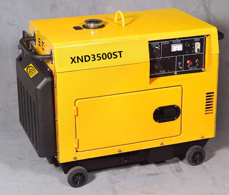 3KW Diesel generator Silent Type with high quality