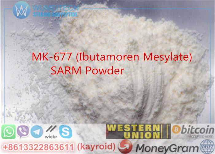 MK-677 Powder SARM Lean Muscle Gains Ibutamoren Mesylate Pharma Materials Nutrobal