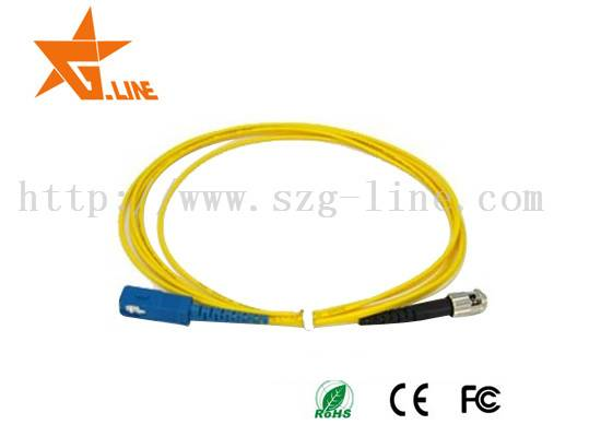 Hot selling LC,SC,FC,ST,waterproof , Tensile Strength fiber optic patch cord