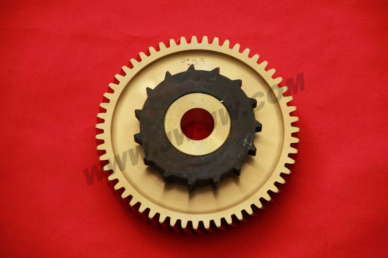 Global worm wheel for Sulzer spare parts