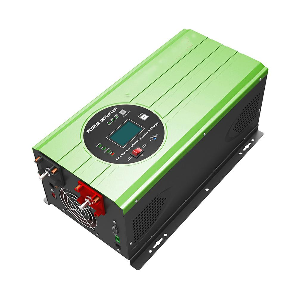 Low frenqucy hybrid solar inverter with charger