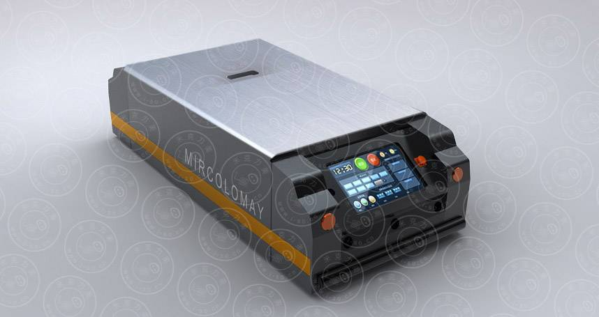 magnetic tape guided vehicle